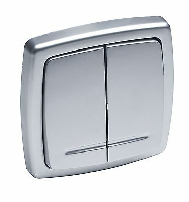 Meister Protective Contact Socket Outlet silver 7412430