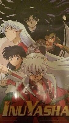 InuYasha Poster GROUP SCENE Wall Poster Large See Size