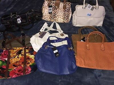 ESBAG Lot Of 9 Designer Bags New with Tags Wholesale
