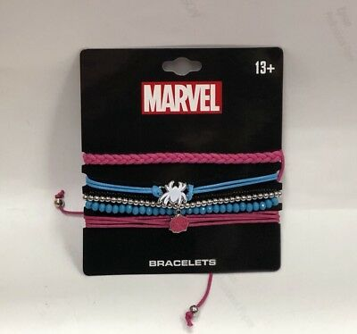 Marvel Spider-gwen Set Of 5 Bracelets