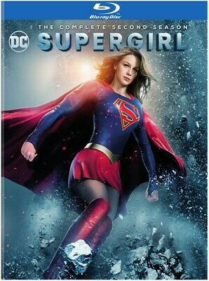 Supergirl: The Complete Second Season - 4 DISC SET (REGION A Blu-ray New)