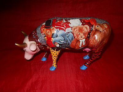 Rare Retired Collectible Cow Parade Figurine  #7317