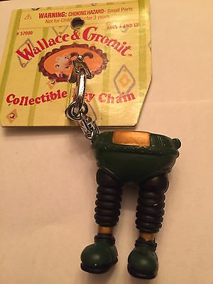 Wallace And Gromit Collectible Key Chain.Rare