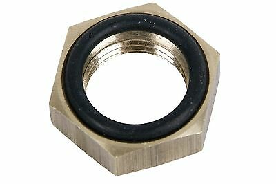 Metallic Fitting Locking Nut With O-Ring 18X15