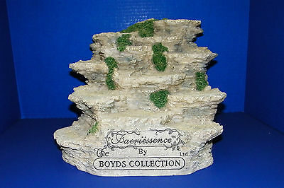 Boyds Bear Collection Faeriessence Folkstone Store Display 12 Rock Ledge Faerie