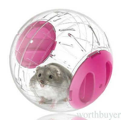 1 Pcs Hamster Plastic Toy Exercise Ball Rodent Mice Jogging Rat Play Ball Toy R