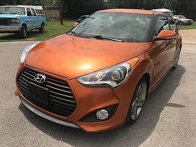 2013 Hyundai Veloster  2013 hyundai veloster turbo SALVAGE 14kmiles exc condition, loaded  $8500