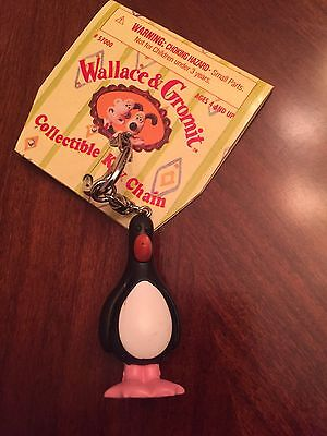 Wallace And Gromit Collectible Key Chain. Rare