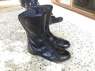 Rjays leather motorcycle boots