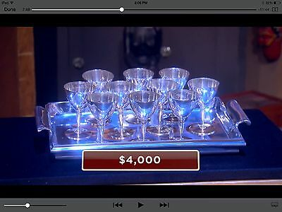 2 Tiffany & Co. Antique Silver Goblets - As WON On Pawn Stars' Show!