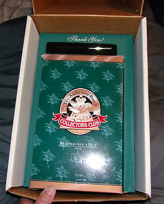 1998 Anheuser Busch Collectors Club Members Only Stein in Original Box Limited