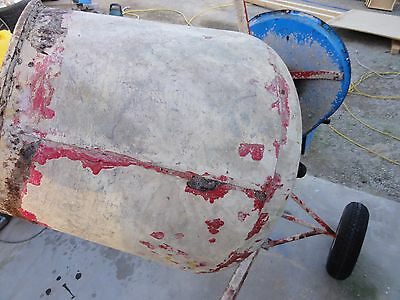 Cement Mixer With Electric Motor