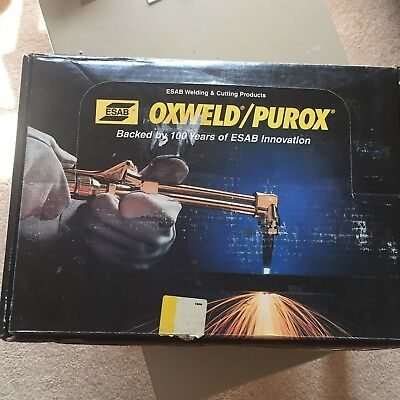 ESAB/Purox GT-350 torch outfit (propane and acetylene)