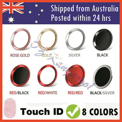Touch ID Button Home Button Sticker For Apple iPhone 7 6 6S Plus 5S SE iPad Air