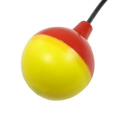 Liquid Water Level Sensor Blue Red Plastic Float Ball w 3 Cables
