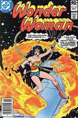 Wonder Woman comic book #253 #261 (Mar, Nov 1979, DC), used, good condition