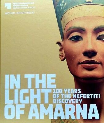 HUGE Nefertiti Light Amarna 100 Years Discoveries Artifacts Jewelry Aten Faience