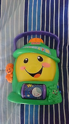 fisher price laugh and learn musical torch lamp