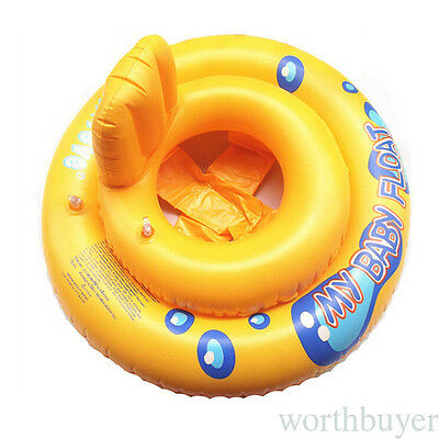 Inflatable PVC Baby Kids Toddler Infant Swimming Float Seat Boat Pool Ring CRW3