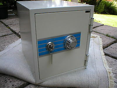 Diplomat Fire Resistant Mechanical Combination Safe. Used. Good Working Order.