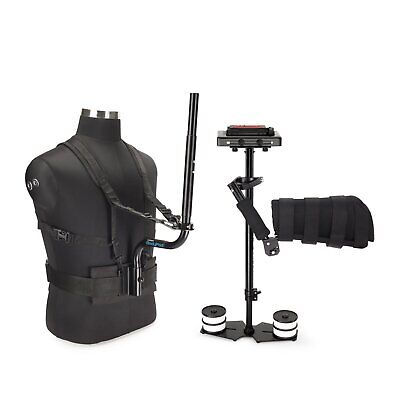 Flycam DSLR Camera Handheld Video Stabilizer Steadycam with Body Pod & Arm Brace