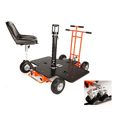 Proaim Quad Super Bazooka Doorway Dolly with chair and Track wheels (P-QUAD-SB)