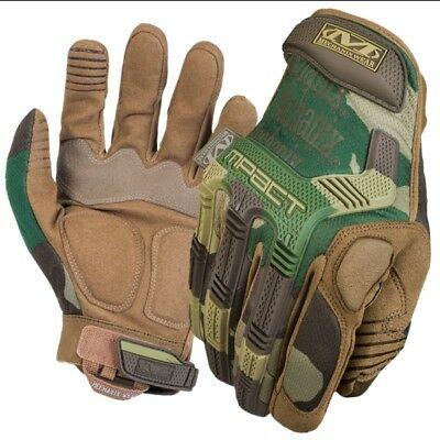 Mechanix M-Pact Woodland camo tactical  Handschuhe Militär Motorsport MPT 77