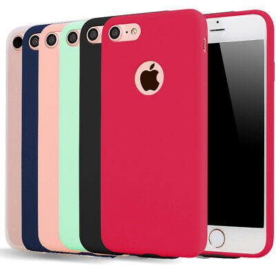 Ultra Thin Slim Soft Silicone TPU Case Cover for Apple iPhone 8 7 6 6s Plus 5s