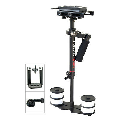 Flycam DV DSLR Video Camera Stabilizer w Quick Release Plate 3Axis Gimbal Handle