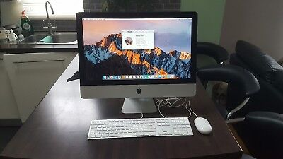 "Apple iMac A1418 21.5"" late 2012 2.7ghz i5 8gb ram 256 ssd plus extra software."