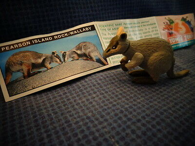 Yowies Series 5, * PEARSON ISLAND ROCK WALLABY * + PAPERS