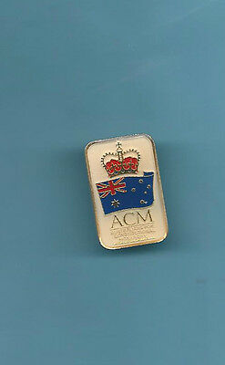 (Very Rare) ACM AUSTRALIANS FOR CONSTITUTIONAL MONARCHY Pin
