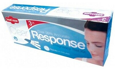 Clear Response GRAVIDANZA TEST Stick KIT 3, 6, 9, 12 CONFEZIONE ONE STEP Result