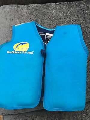 konfidence swim jacket 17-21 kgs age 4-5