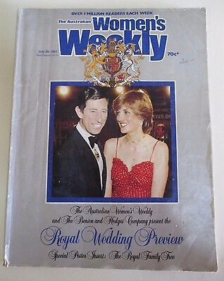 Royal Wedding Preview Souvenir Edition - The Australian Women's Weekly - 1981