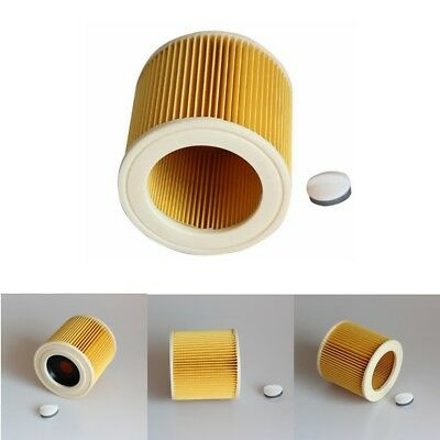 Wet & Dry Cartridge Filter For KARCHER MV2 WD2.200 WD3.500 A2504 Vacuum Cleaner