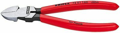 Knipex 72 01 160 Flush Cutting Diagonal Side Cutters Lead Plastic Cable Ties