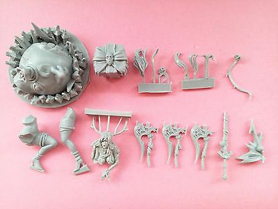 54mm kingdom death Xmas Special Pinup Twilight Knight Unpainted Unbuild Z099