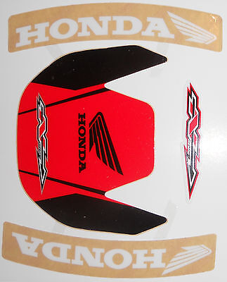N-STYLE HONDA CR80 CR85 FRONT FENDER DECAL STICKER ( 1996 to 2007 )