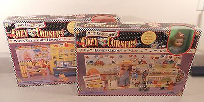 Mary Engelbreit Vintage Cozy Corners Dolls Kates Pet Hospital & Rosie's Garden