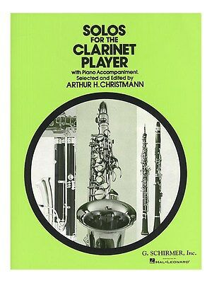Solos For The Clarinet Player Learn PLAY PIECES Piano Accompaniment MUSIC BOOK