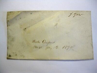 1874 New London Connecticut Water Share Coupons Unopened in original envelope