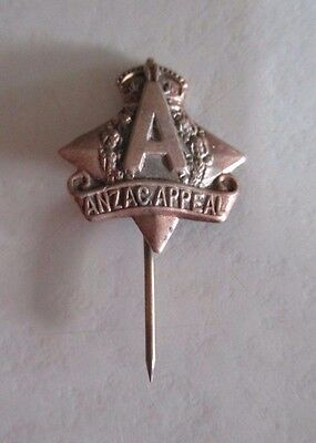 Australian and New Zealand Army Corps (ANZAC) Day Appeal Pin - Diamond Design