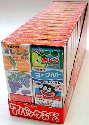 From Japan Marukawa Gum 7 Flavors Set of 105pcs
