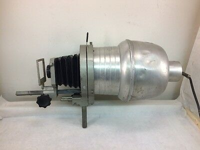 Vintage Image Projector Perfex 50mm 1:3.5 Lens with Bellows and Light