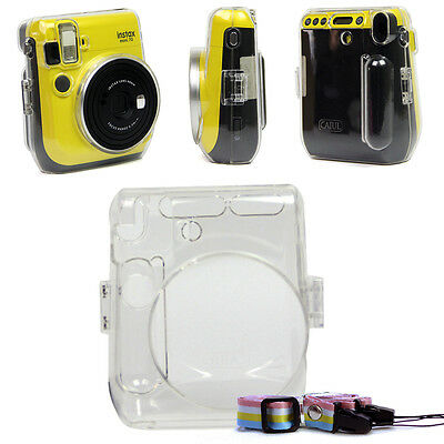 For Fujifilm Instax Mini 70 Camera Carrying Crystal Clear Hard Case Cover Shell