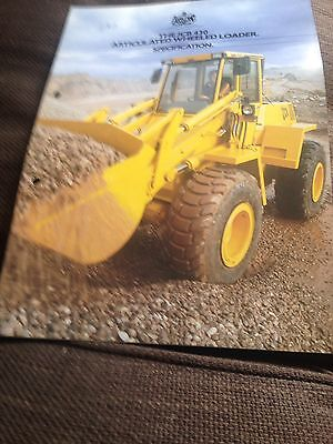 Sales Sheet From 1987 For JCB 430