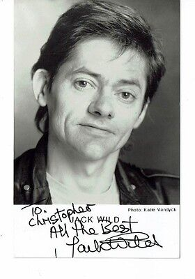 Jack Wild Actor Oliver Hand Signed Photograph 5 x 3