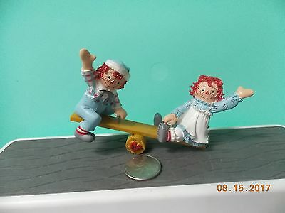 Raggedy Ann and Andy Figure-Seesaw