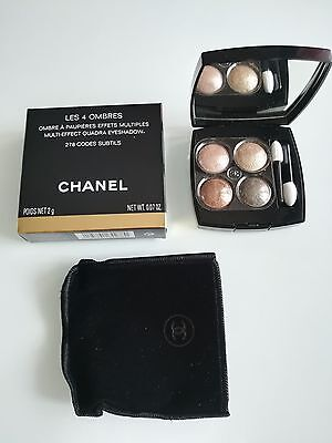 Les 4 Ombres - 278 Codes Subtils - Chanel